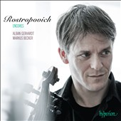 Encores as performed by Mstislav Rostropovich by Prokofiev, Sinding, Rachmaninov, Debussy, Stravinsky, et al. / Alban Gerhardt, cello; Markus Becker, piano