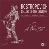 Rostropovich: Cellist of the Century, The Complete Warner Recordings / Mstislav Rostropovich, cello; various artists [40 CDs]