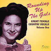Various Artists: Rounding up the Gals, Vol. 1: Great Female Country
