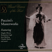 Puccini's Masterworks / Bj&ouml;rling, Gigli, Melba, Muzio, et al