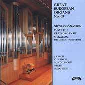 Great European Organs Vol 63 - Bach, Mendelssohn, Reger, etc