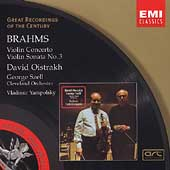 Brahms: Violin Concerto, etc / Oistrakh, Szell, et al