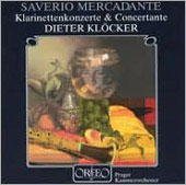 Mercadante: Clarinet Concertos, etc / Klöcker, Prague CO