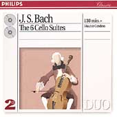 Bach: The 6 Cello Suites / Maurice Gendron