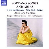 Soprano Songs and Arias / Ana Mar&iacute;a Mart&iacute;nez