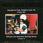 Mountain: Official Bootleg Series, Vol. 11: Brandwine Club 1981