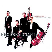 Shostakovich: The String Quartets / Brodsky Quartet