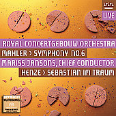 Mahler: Symphony no 6 / Jansons, et al