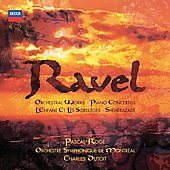 Ravel: Orchestral Works, Concertos, etc / Roge, Dutoit