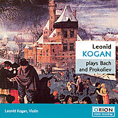 Bach, Prokofiev / Kogan