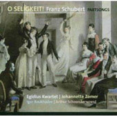 O Seligkeit! - Schubert / Zomer, Egidius Kwartet, et al
