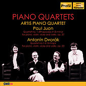 Juon, Dvorak: Quartets / Artis Piano Quartet