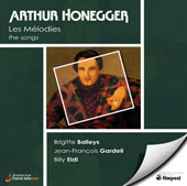 Honegger: les mélodies / Balleys, Gardeil, Eidi