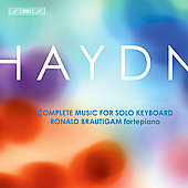 Haydn: Complete Music for Solo Keyboard / Ronald Brautigam
