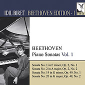 Beethoven Edition Vol 1 - Piano Sonatas Vol 1 / Idil Biret