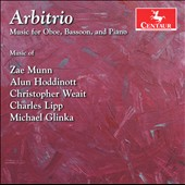 Arbitrio: Music for Oboe, Bassoon & Piano