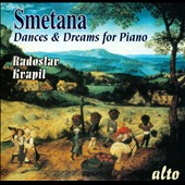 Smetana: Dances & Dreams for Piano / Kvapil
