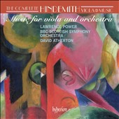 Hindemith: Complete Viola Music Vol. 3 / Lawrence Power, viola