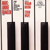 Works by William Bolcom & Stefan Wolpe / Marc-André Hamelin -