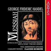 Handel: Messiah / Scimone, Schuman, Terrani, Ford, Howell
