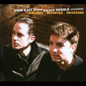 Clarinet Sonatas: Brahms, Reinecke, Draeseke / Kilian Herold & Amir Katz