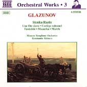 Glazunov: Complete Orchestral Works Vol 3 / Krimets, Moscow