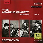 The RIAS Amadeus Quartet Recordings Vol. 1: Beethoven Quartets / Cecil Aronowitz, viola (rec. 1950-67) [7 CDs]