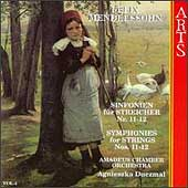 Mendelssohn: Symphonies for Strings Vol 4 / Duczmal, et al