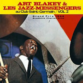 Art Blakey & the Jazz Messengers: Au Club at St Germain, Vol. 2