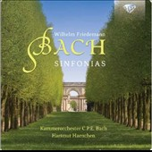 W.F. Bach: Sinfonias / C.P.E. Bach Kammerorchester