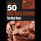 Andrew Ford: 50 R&B Bass Grooves You Must Know