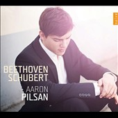 Beethoven: Piano Sonata Op. 31/1; 'Eroica' Variations; Schubert: German Dances (16); 'Wanderer' Fantasy  / Aaron Pilsan, piano