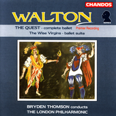 Walton: The Quest, The Wise Virgins / Thomson, London PO