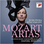 Mozart Arias from Idomeneo, La Clemenza di Titto; Marriage of Figaro, Don Giovanni / Dorothea Röschmann, soprano; Swedish Radio SO, Harding