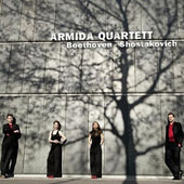 Beethoven: String Quartet No. 7 in F major, Op. 59/1; Shostakovich: String Quartet No. 10, Op. 118 / Armida Quartett