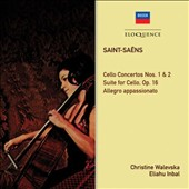 Saint-Saëns: Cello Concertos Nos. 1 & 2; Suite for Cello Op. 16; Allegro appassionato