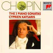 Chopin: The 3 Piano Sonatas / Cyprien Katsaris