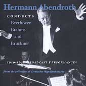 Hermann Abendroth 1939-1949 Performances - Beethoven, et al