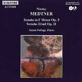 Medtner: Sonatas for Piano Vol 1 / Adam Fellegi