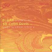 Elgar: Symphony no 1 / Sir Colin Davis, London SO