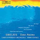 Sibelius: En Saga, The Dryad, The Bard, etc/ Vanska