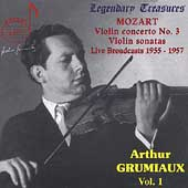 Legendary Treasures - Arthur Grumiaux Vol 1 - Mozart