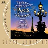 Paris La Belle Epoque - Fauré, Massenet, etc / Ma, Stott
