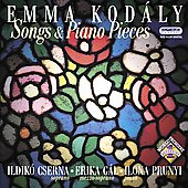 Emma Kodály: Songs & Piano Pieces / Cserna, Gál, Prunyi