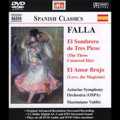 Spanish Classics - Falla: Three-Cornered Hat, etc / Valdes