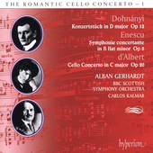 The Romantic Cello Concerto 1 - Dohn&aacute;nyi, Enescu, et al