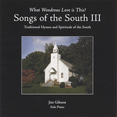 Jim Gibson (Piano): Songs of the South III