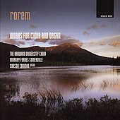 Rorem: Works for Choir and Organ / Harvard University Choir