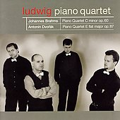 Brahms, Dvorak: Quartets / Ludwig Piano Quartet