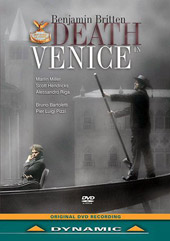 Britten: Death in Venice / Bruno Bartoletti, Marlin Miller, Scott Hendricks [DVD]